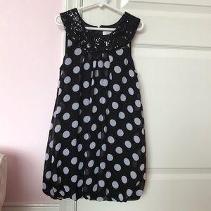 Children' place polka dot dress/tunic